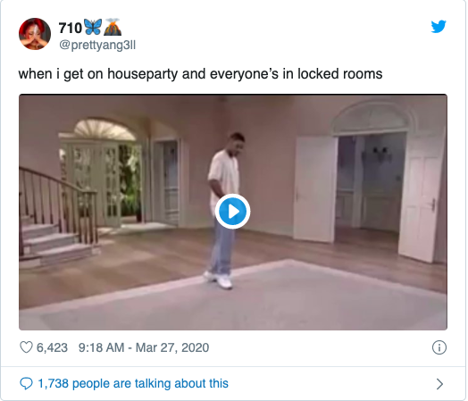 HOUSEPARTY MEME