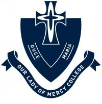 Our Lady of Mercy College - logo