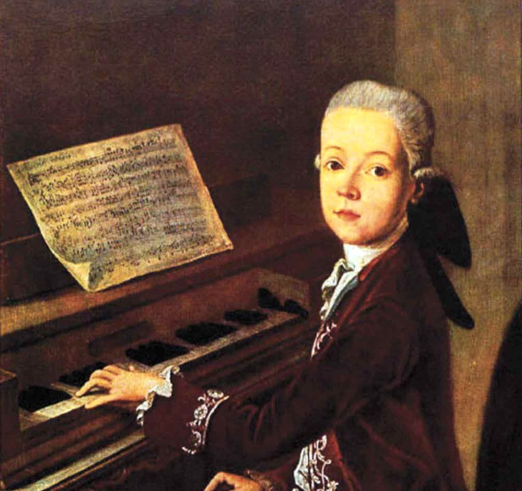 mozart-first-composition
