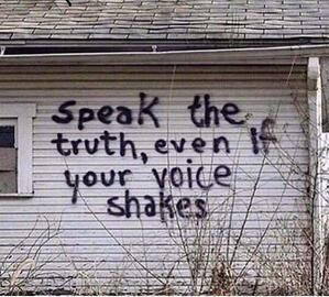 speak the truth