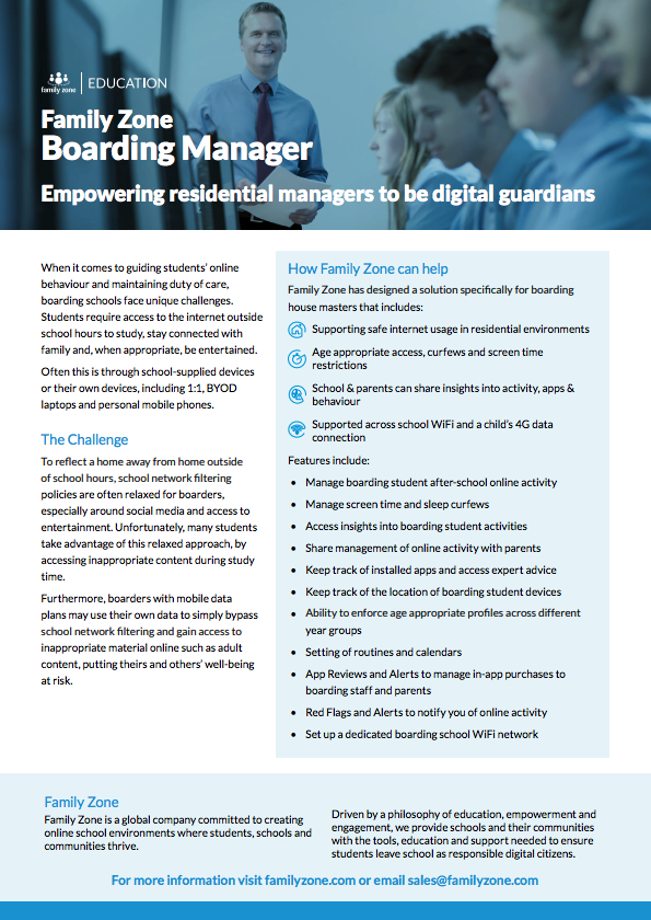 Boarding Manager Product Guide