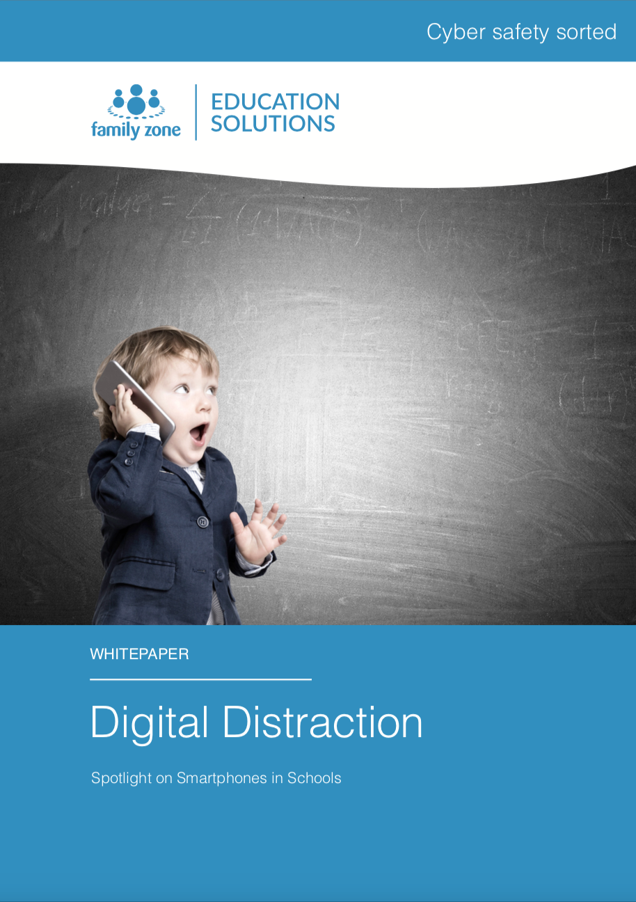 Cover - Family Zone - Digital Distraction