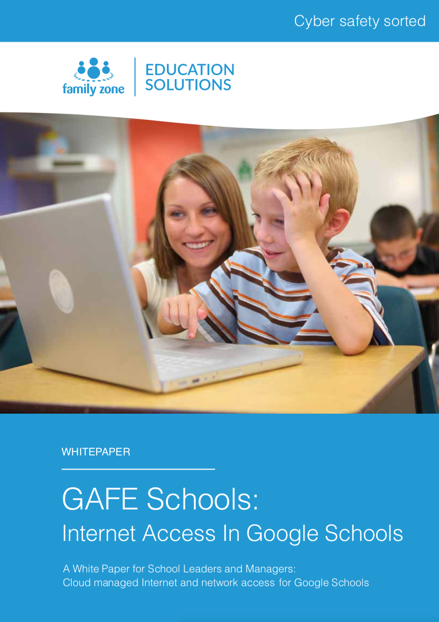 Cover - Family Zone - GAFE Schools