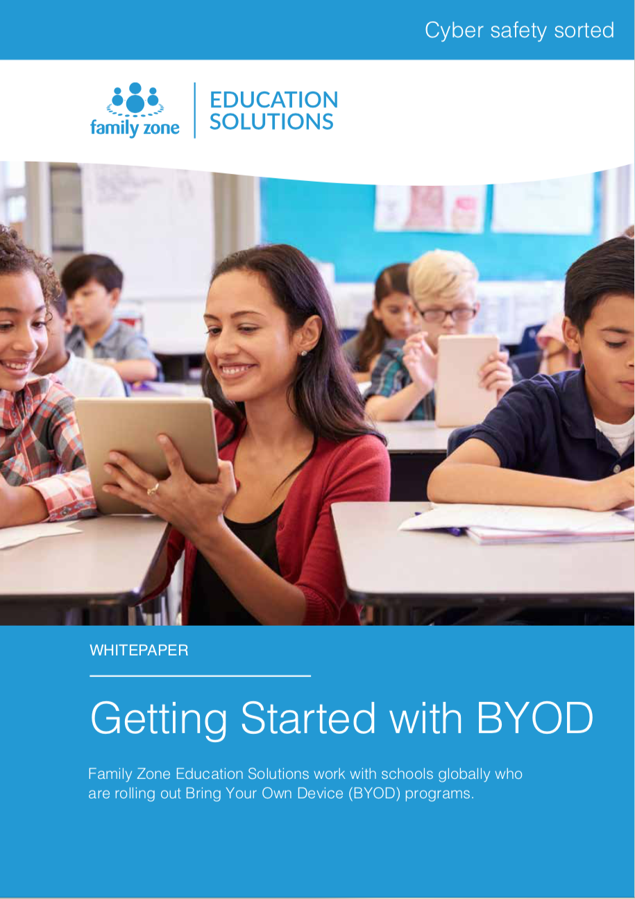 Cover - Family Zone - Getting started with BYOD