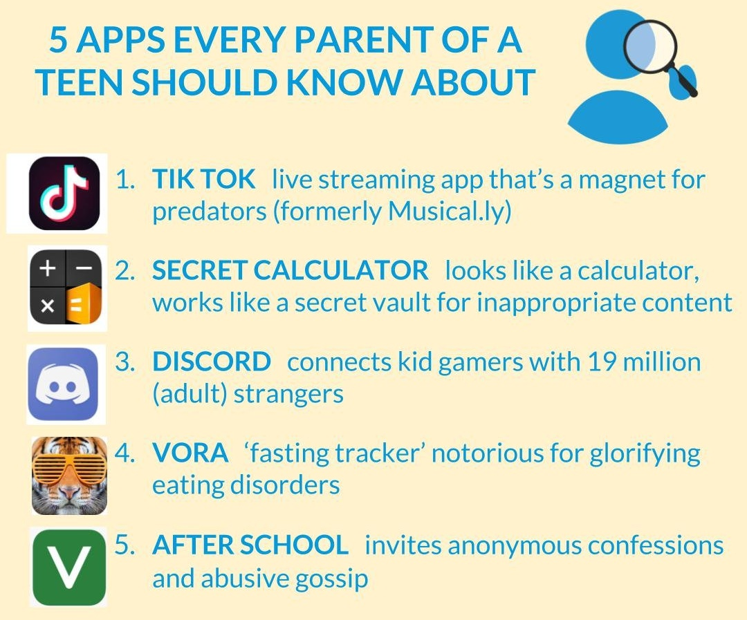If You Re The Parent Of A Teen Here Are The 5 Apps You Need To Know
