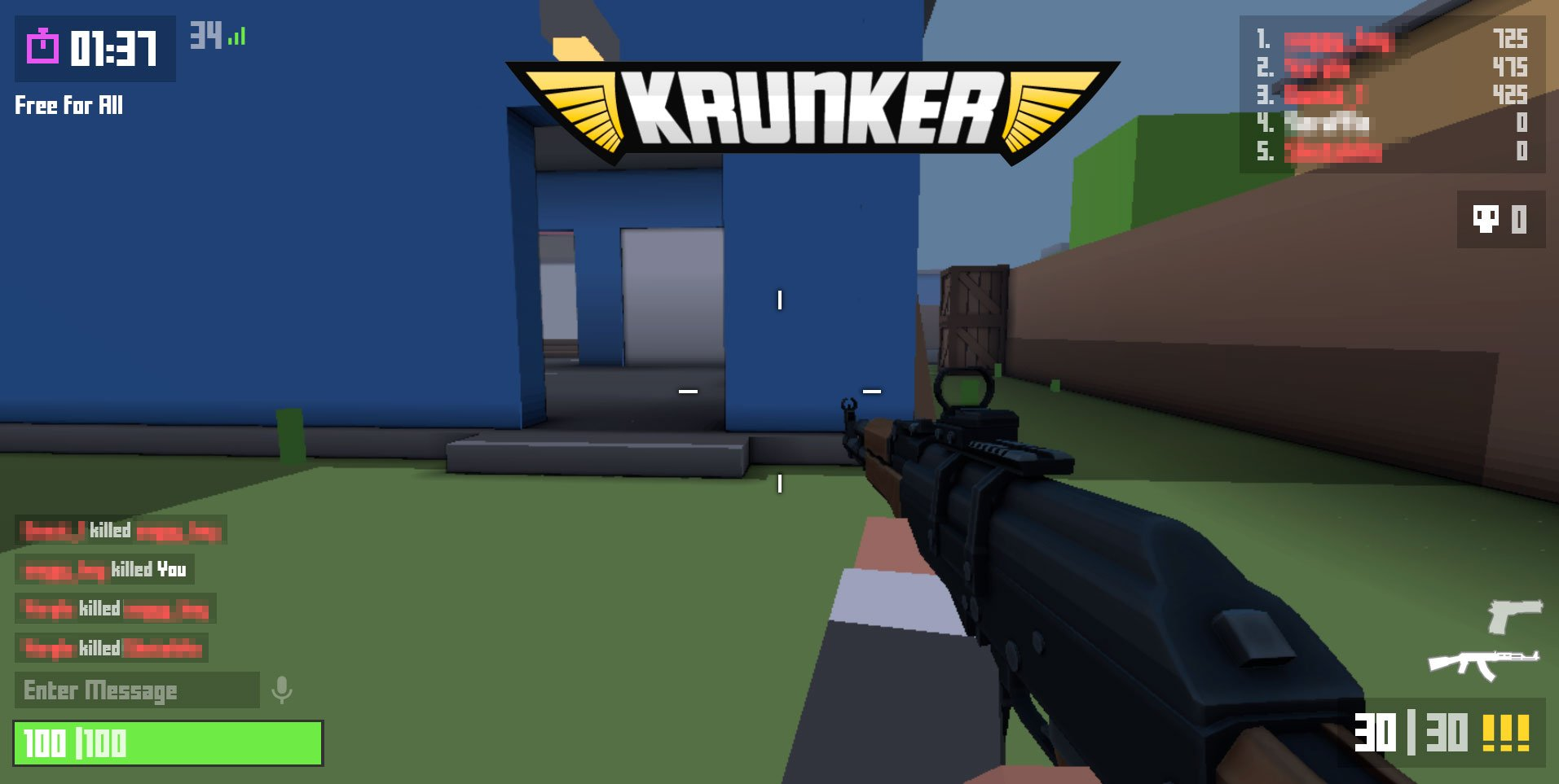 The Best Fortnite Game In Roblox Krunker Has Landed And It S Got Our Kids In The Crosshairs
