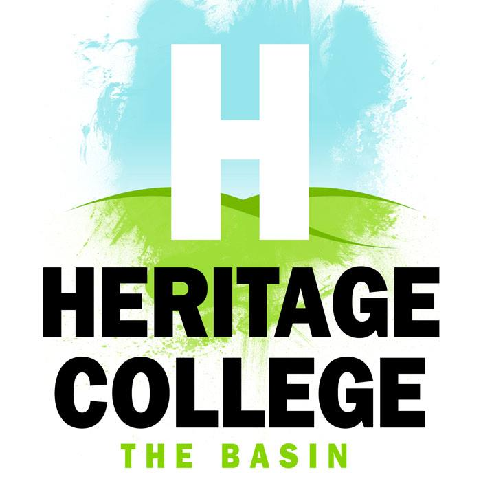 Heritage College the basin LOGO.jpg