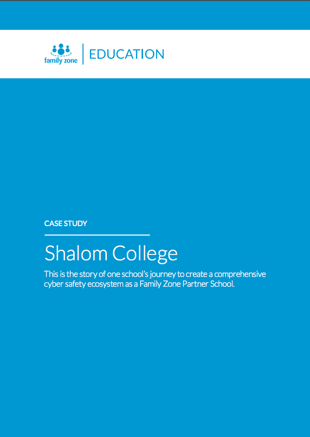 Shalom College Case Study Front Page